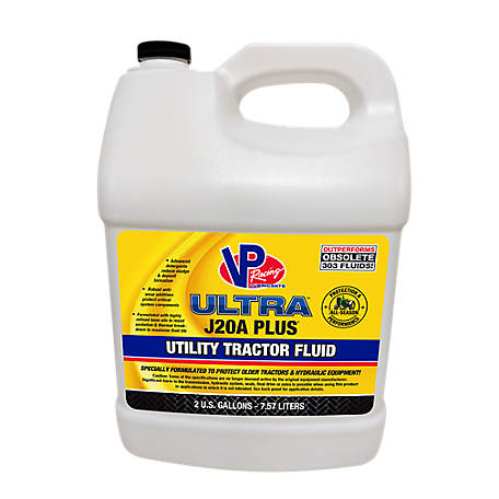 VP Racing Lubricants Ultra J20A Plus Utility Tractor Fluid, 2 gal., VP2040109