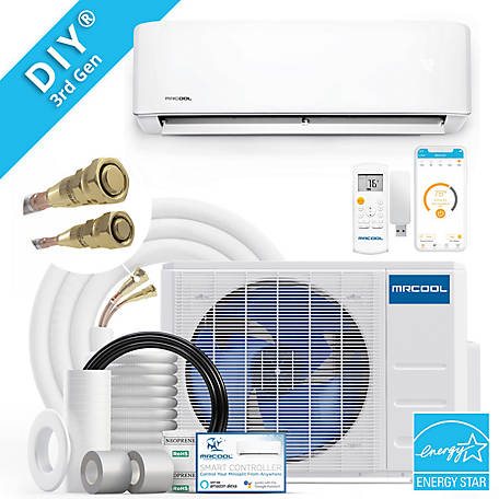 MRCOOL DIY 3rd Gen 23,000 BTU 20 SEER Energy Star Ductless Mini-Split AC and Heat Pump with 25 ft. Install Kit 230V