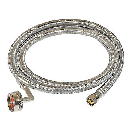 Eastman 8 ft. Braided Stainless Steel Dishwasher Connector, 41013