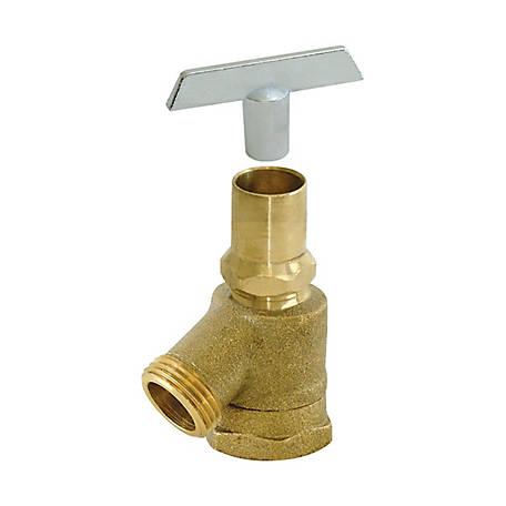 "Loose Key Brass Hose Bibb 3//4/"" ~ New"