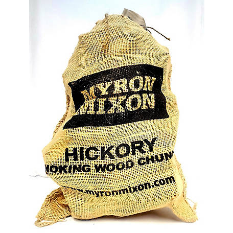 Myron Mixon Locally Harvested, Naturally Cured BBQ Wood Chunks for Smoking and Grilling, Hickory Flavor, MMHWC