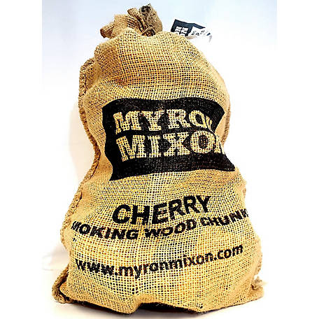 Myron Mixon Locally Harvested, Naturally Cured BBQ Wood Chunks for Smoking and Grilling, Cherry Flavor, MMCWC