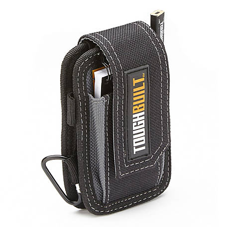 ToughBuilt Smart Phone Pouch with Notebook & Pencil, TB-33