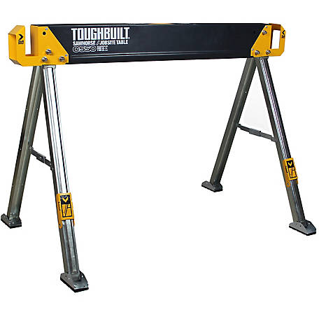 ToughBuilt C550 Sawhorse with Jobsite Table, TB-C550