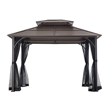 Sunjoy 10 ft. x 12 ft. Sunjoy Chatsworth Gazebo, A102009100