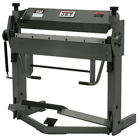 JET 40 in. x 12 Gauge Box & Pan Brake with Foot Clamp, 752125