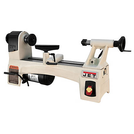 JET 10 in. x 15 in. Mini Wood Lathe Machine, 719100
