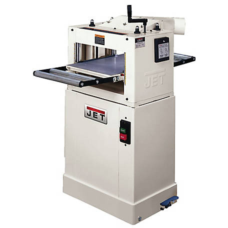 JET 13 in. Wood Planer / Molder, Closed Stand, 1/2HP Motor, 708524