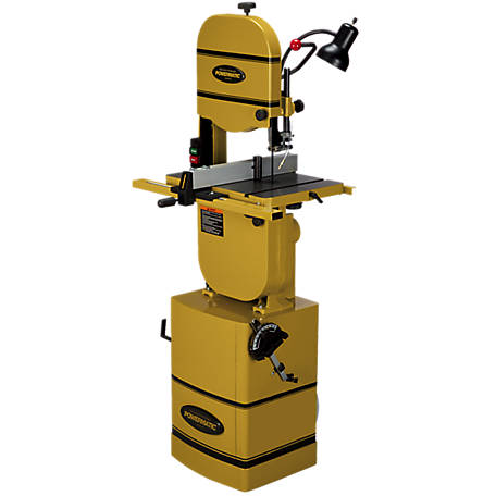 Powermatic 14 in. Bandsaw with Stand and Riser Block, 1791216K