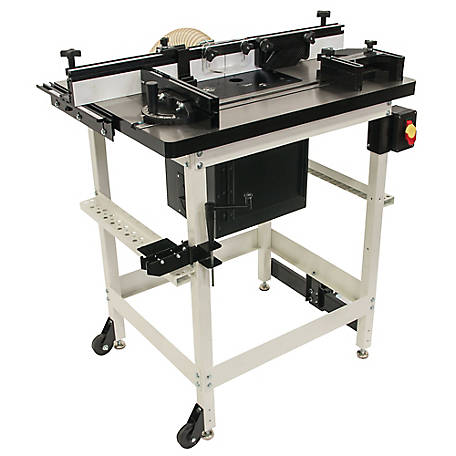 JET Router Table with Lift & Cast Iron Table Top, 737000CK