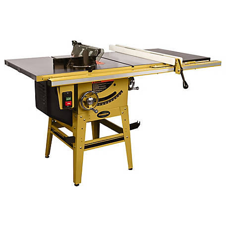 Powermatic 64B Table Saw 1.75HP, 115/230V, 30 in. Rack, 1791229K