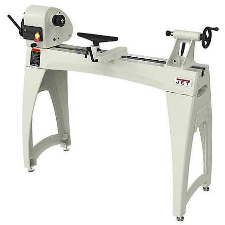 JET 14 x 40 in. Wood Lathe with Legs, 719400K
