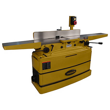 Powermatic 8 in. Parallelogram Jointer, Straight Knives 2HP 230V 1PH, 1610079