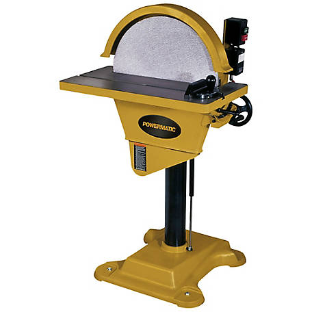 Powermatic 20 in. Disc Sander, 2HP 230V 1PH, 1791276