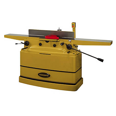 Powermatic 8 in. Parallelogram Jointer, Helical Cutterhead 2HP 230V 1PH, 1610082