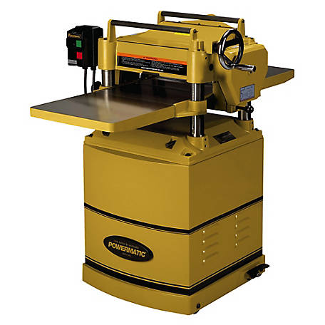 Powermatic 15 in. Planer with Helical Cutterhead, 3HP 230V 1PH, 1791213