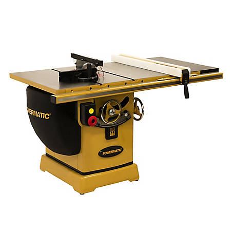 Powermatic 2000B Table Saw - 5HP 3PH 230/460V 30 in. Rip with Accu-Fence, PM25330K