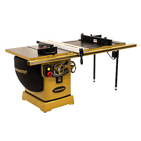 Powermatic 2000B Table Saw - 3HP 1PH 230V 50 in. Rip with Accu-Fence and Router Lift, PM23150RK