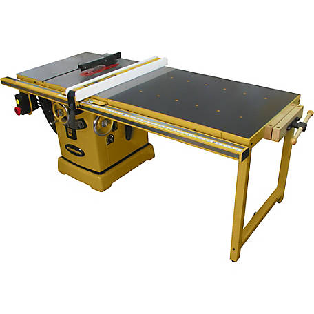 Powermatic 2000B Table Saw - 5HP 1PH 230V 50 in. Rip with Accu-Fence and Workbench, PM25150WK