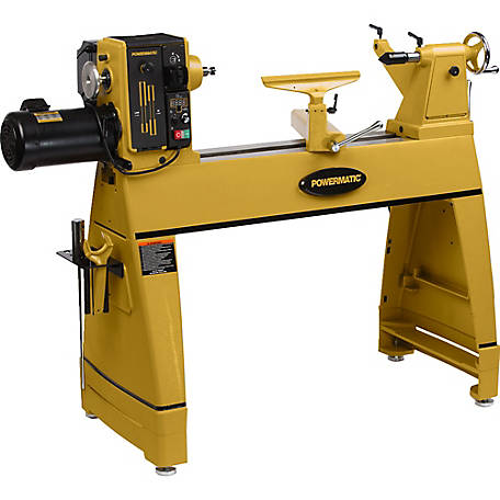 Powermatic Lathe 2HP, 220V, 1 Ph with Risers, 1353001