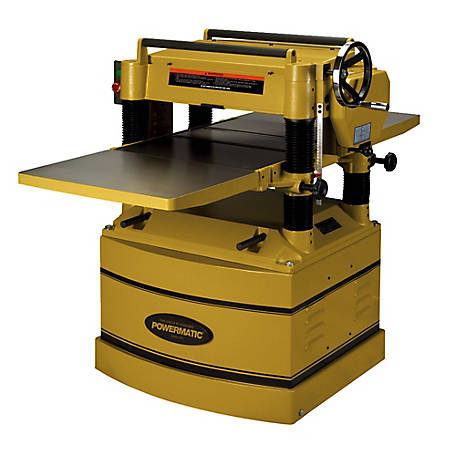 Powermatic 20 in. Planer with Helical Cutterhead, 5HP 230/460V 3PH, 1791316
