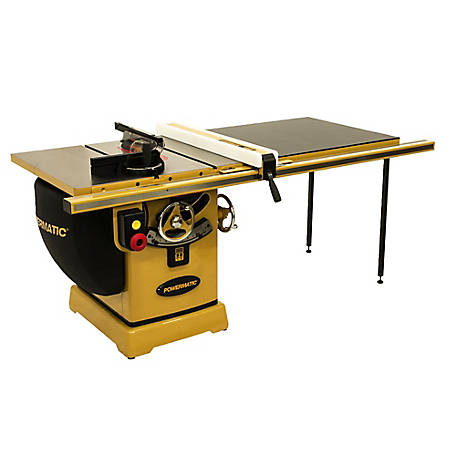 Powermatic 10 in. Cabinet Table Saw, 50 in. RIP w/Accu-Fence, 5HP 230/460V 3PH, PM25350K