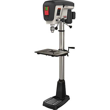 JET 15 in. Floor Standing Drill Press, 16 Speed, 3/4HP, 716250