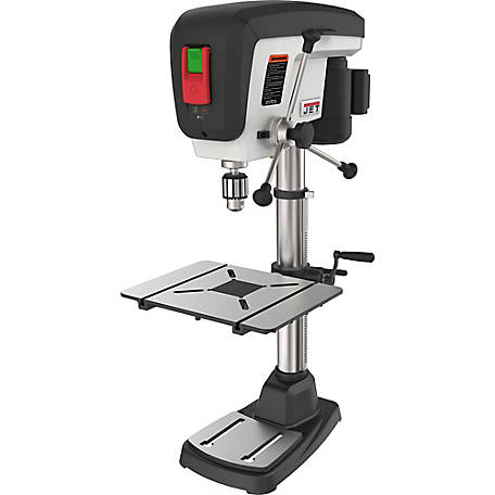 JET 15 in. Benchtop Drill Press, 16 Speed, 3/4HP, 716200