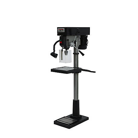 JET 17 in. Industrial Floor Model Drill Press, 354300