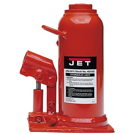 JET 22-1/2 Ton Bottle Jack, 453322