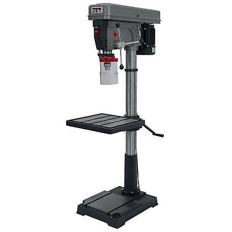 JET 20 in. 12-Speed Floor Drill Press, 354402