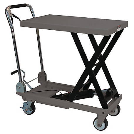 JET Folding Handle Lift Table, 330 lb. Capacity, 140771