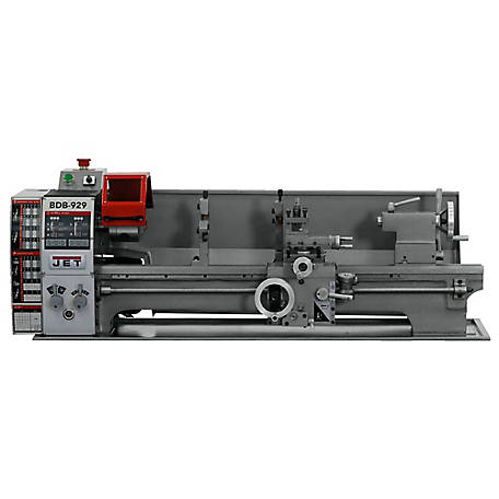 JET 9 in. x 29 in. Belt Drive Bench Metal Lathe, 321379