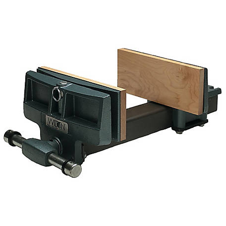 Wilton 4 in. x 7 in. Pivot Jaw Woodworkers Vise - Rapid Acting, 63144