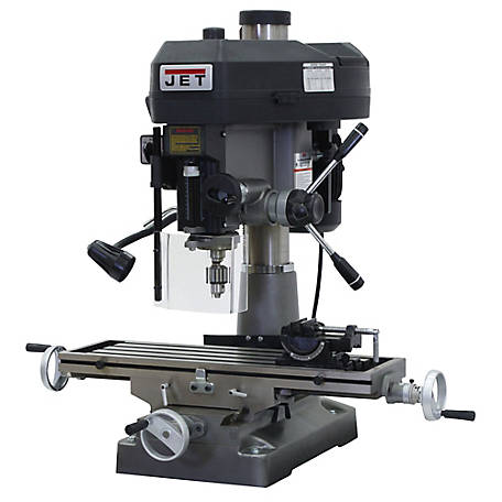 JET Mill/Drill with R-8 Taper 115/230V, 350018