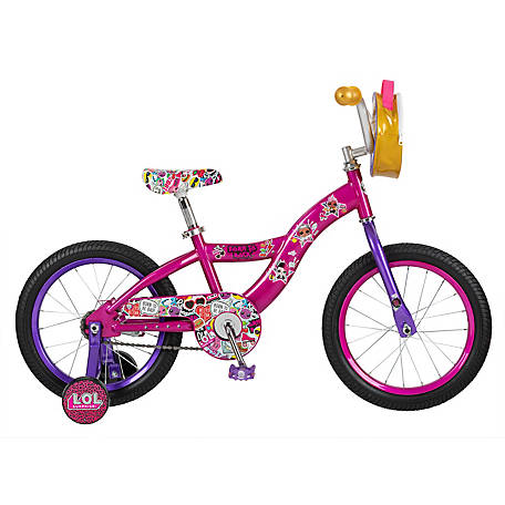 Schwinn Girls' LOL Surprise 16 Bicycle, Purple, S0695