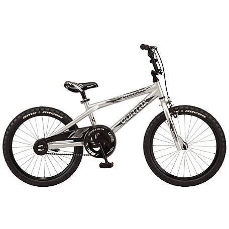 Pacific Boys' Vortax 20 Bicycle, Silver, 204054P