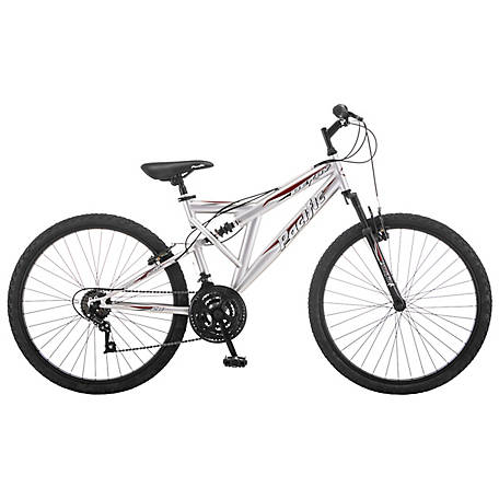 Pacific Men's Derby 26 Bicycle, Silver, 264162PD