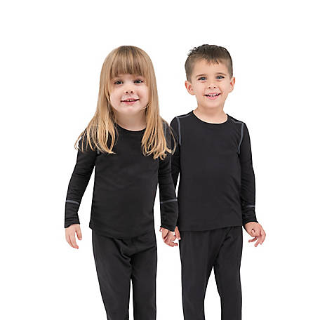 Terramar Toddler Base Layer Long Sleeve Crew, W9581