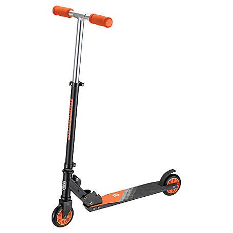 Mongoose Vortex F1 Folding Scooter, Black/Orange, R6325WMDS