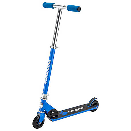 Mongoose Force 1.0 Folding Scooter, Blue/White, R6177