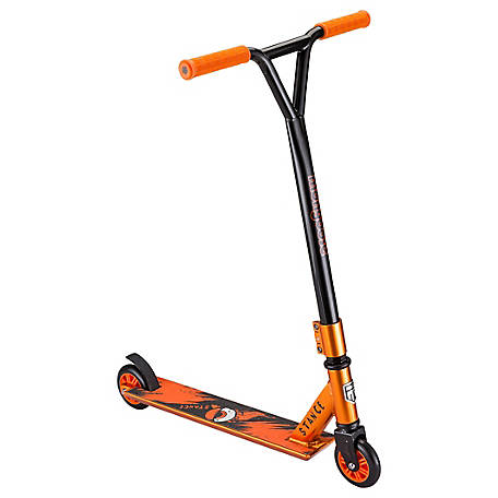 Mongoose Stance Freestyle Scooter, Orange/Black, R6197