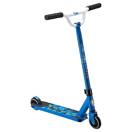 Mongoose Origin 360 Freestyle Scooter, Blue/White, R6320WMDS