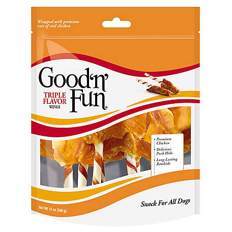 Good 'N Fun 3 Flavor Wings, 12 oz.