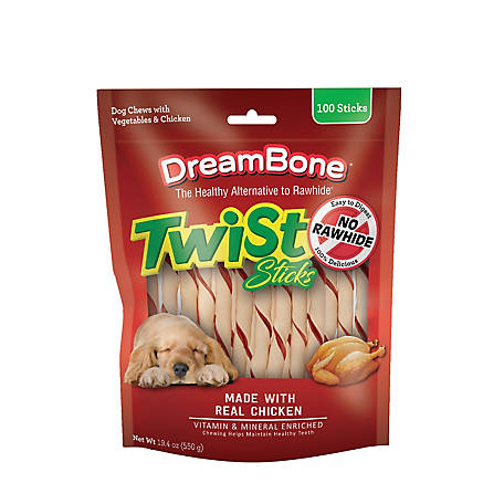 DreamBone Twist Chicken, 100 Count, 19.4 oz.