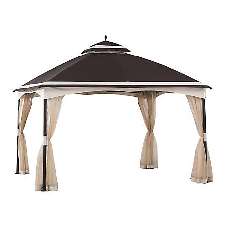 Sunjoy 10 ft. x 12 ft. Kash 2 Tier Gazebo, A101012200
