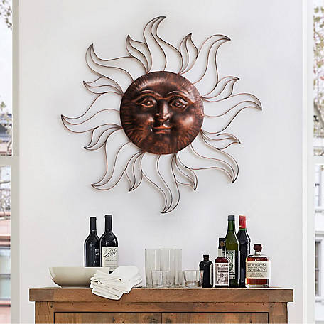 Sunjoy Bushbury Decorative Sun Wall Art