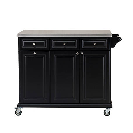 SJ Collection Sunjoy Pate Mobile Kitchen Cart, B211006503