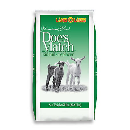 Land O'Lakes Doe's Match Premium Kid Milk Replacer, Non-Medicated