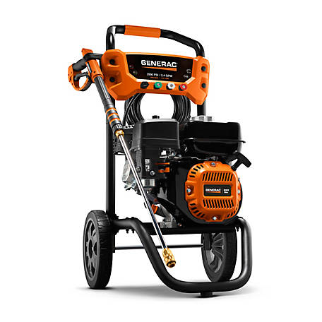 Generac 2900 PSI 2.4 GPM Residental Pressure Washer, 8874
